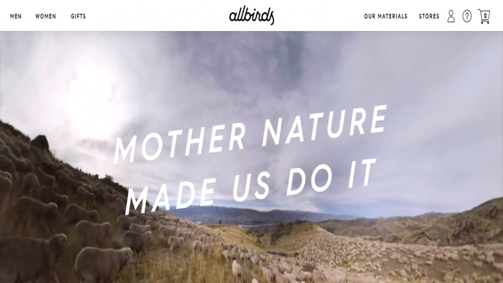 Allbirds about page