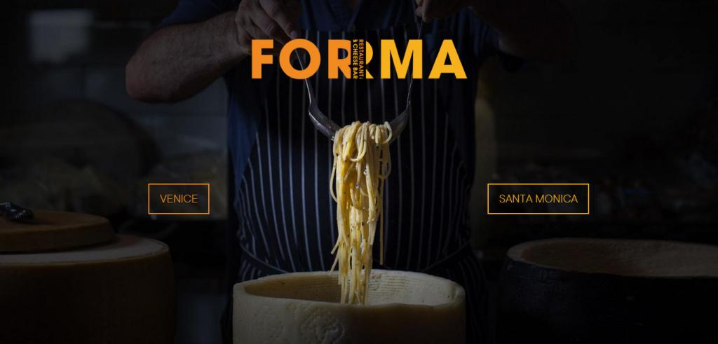 Forma homepage