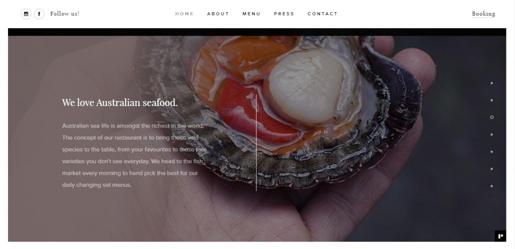 Moxhe homepage