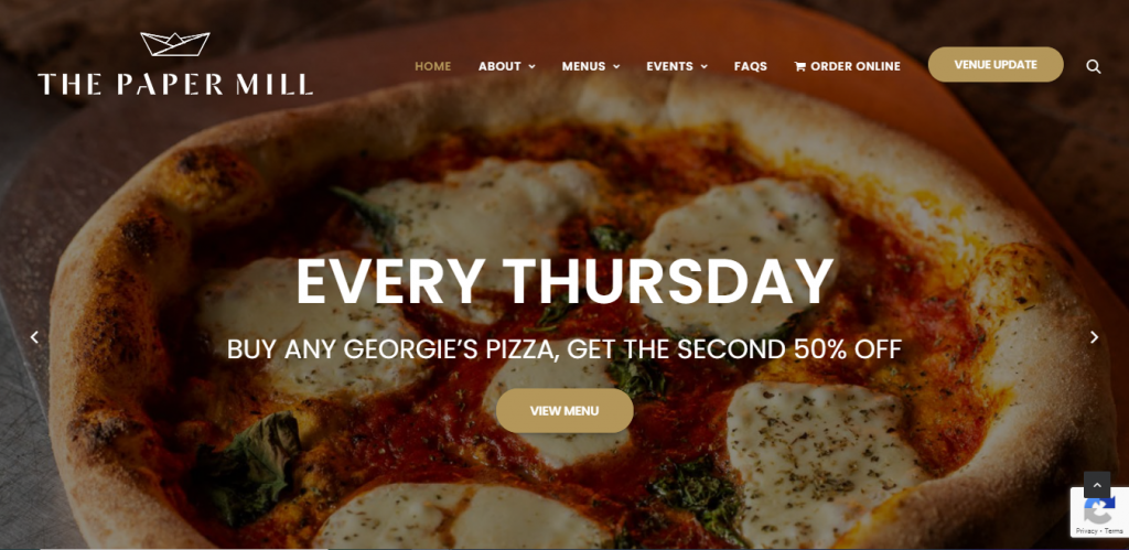 The Paper Mill homepage
