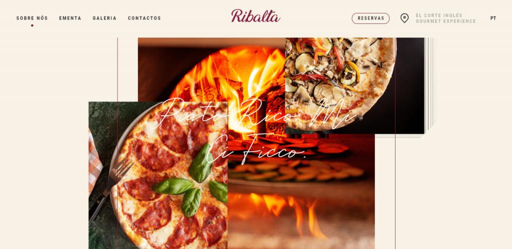 Ribalta homepage