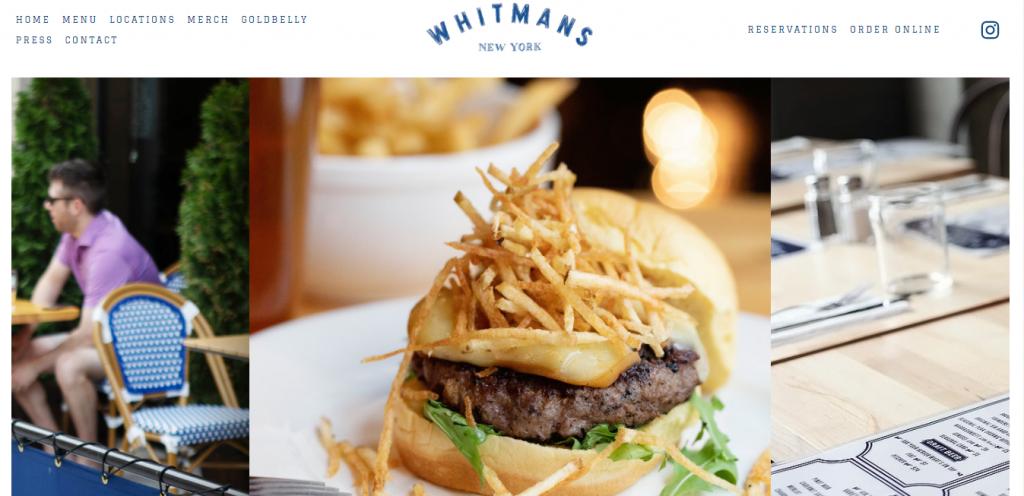 Whitman's homepage