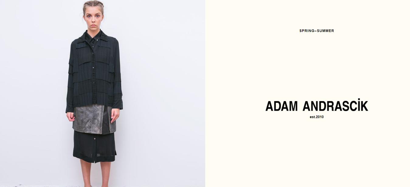Adam Andrascik's website homepage