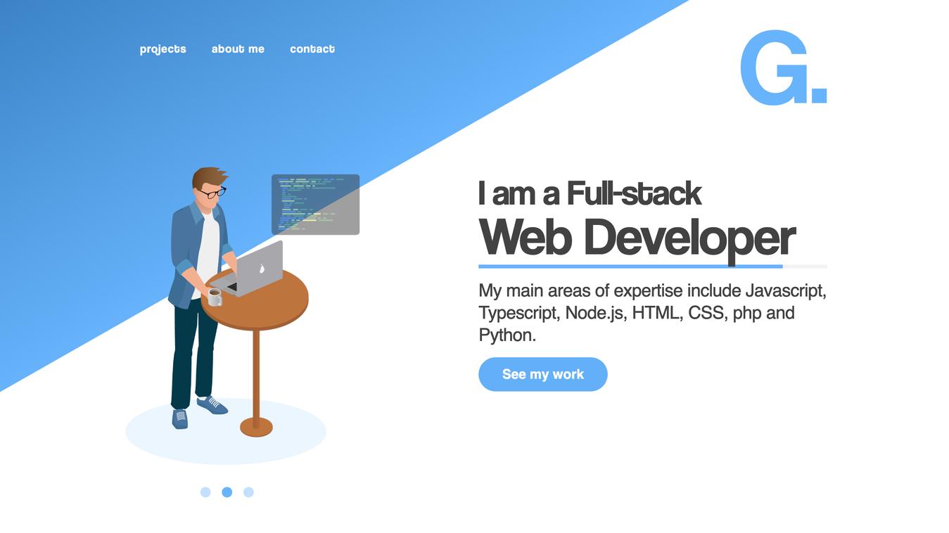 Resume Website of Andris Gauracs