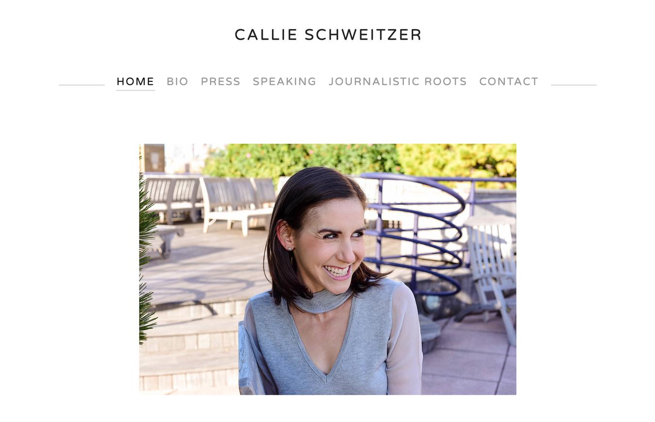 Resume Website of Callie Schweitzer