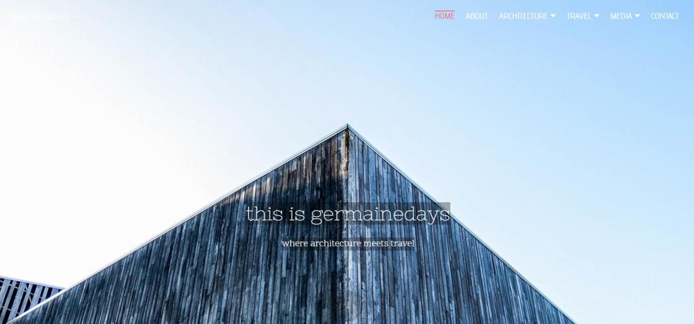 Germaine Days homepage