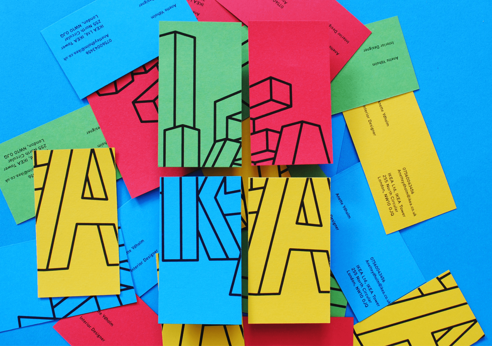 IKEA business cards