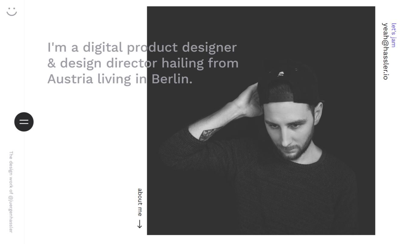 Jurgen Hassler's website homepage