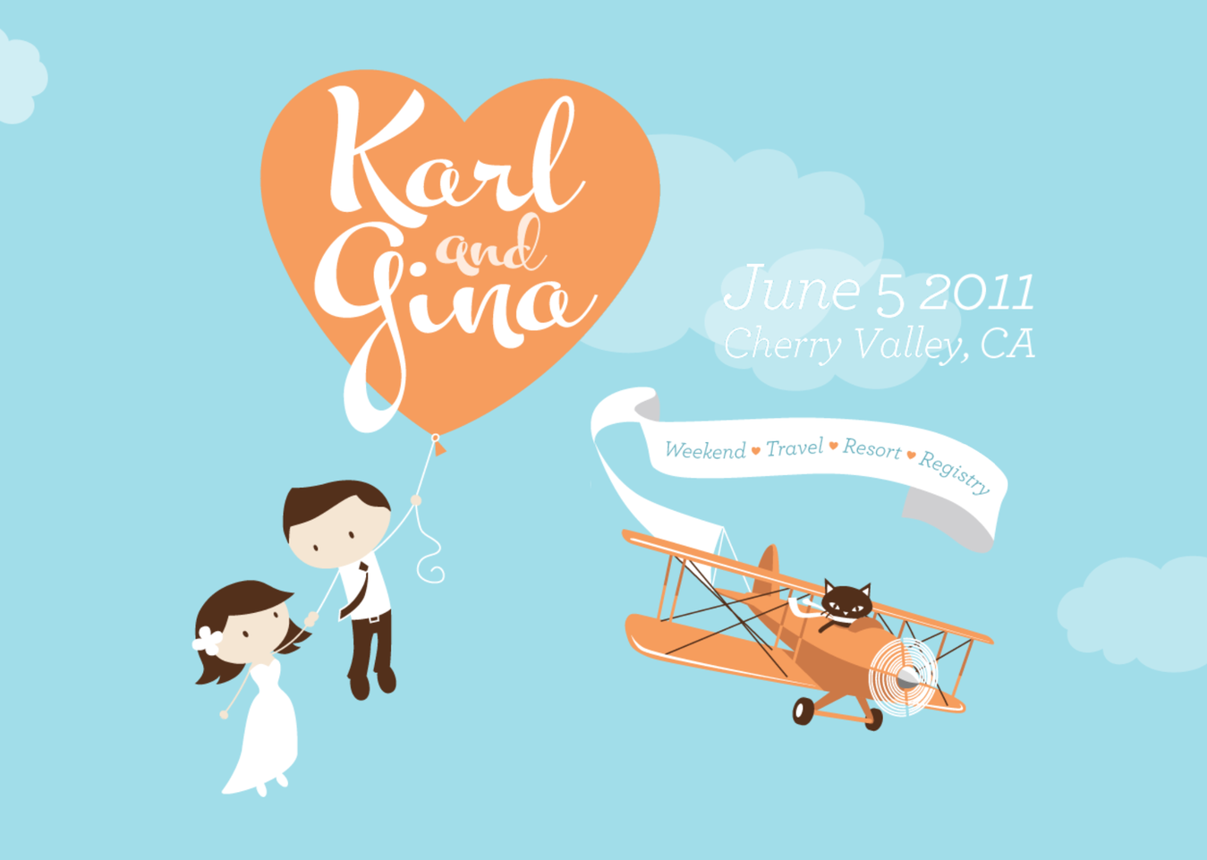 Wedding Website of Karl and Gina
