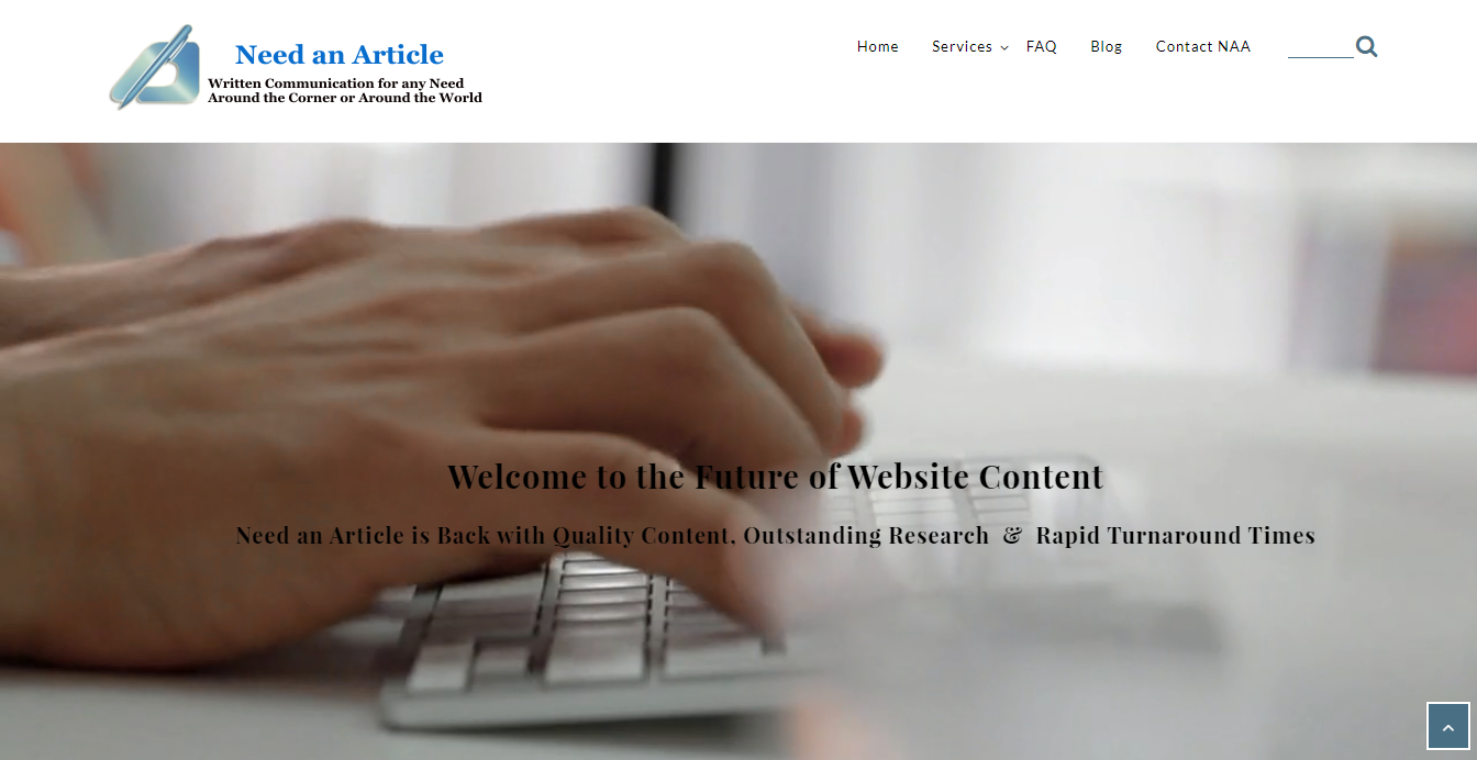 Need and article home page