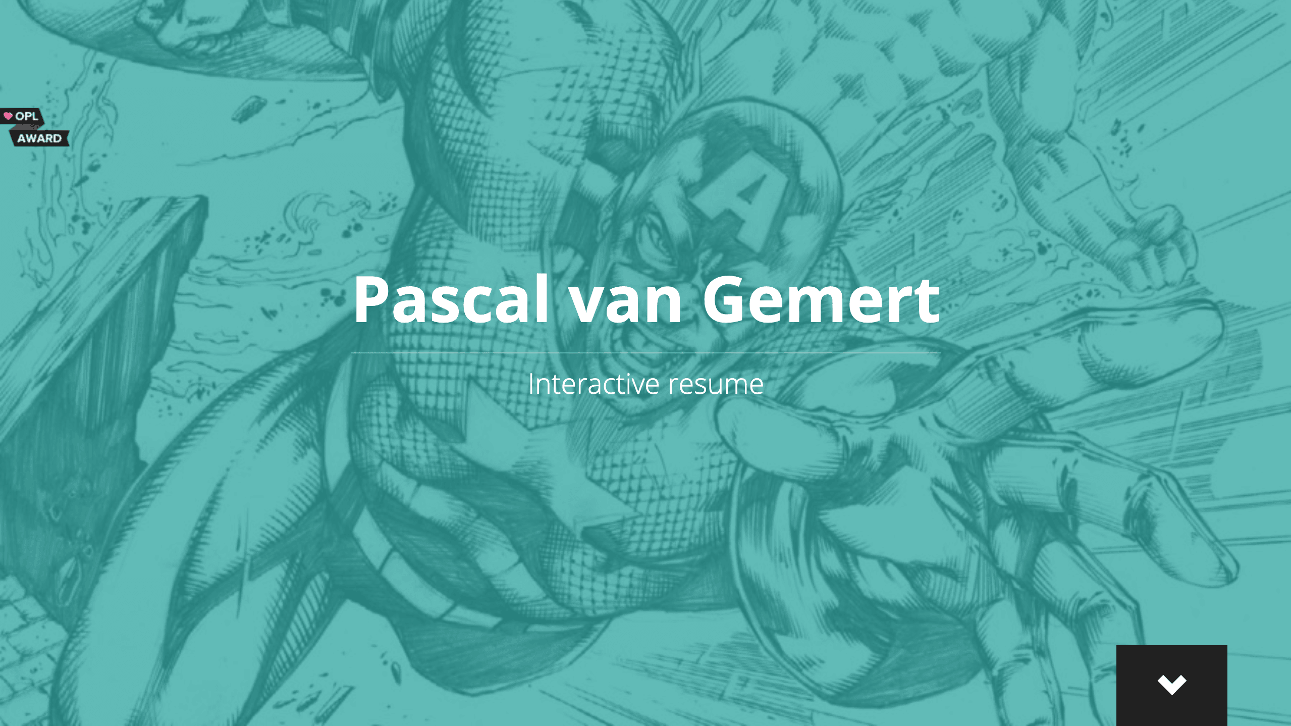 Pascal van Gemert's Resume Website
