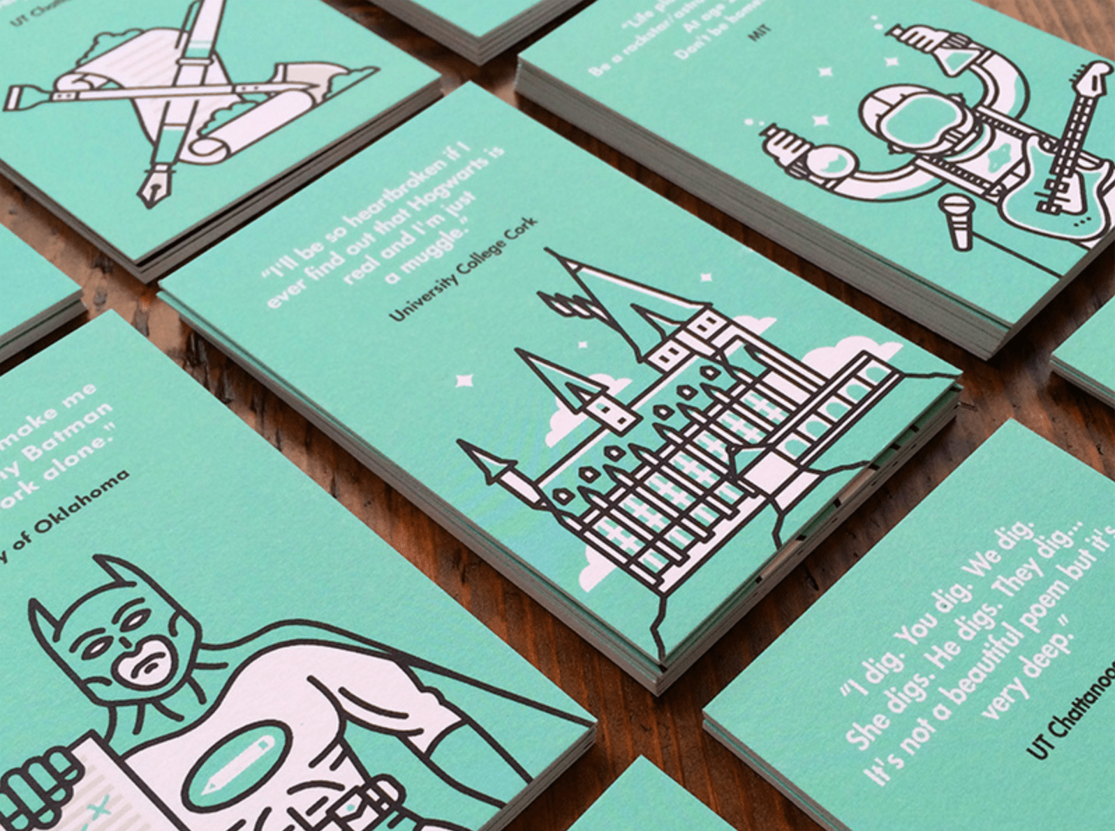 YikYak business cards