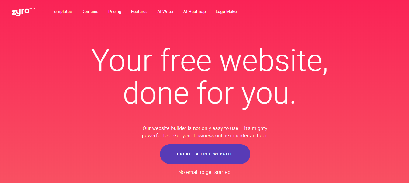 Zyro Website Builder is one of the easiest ways to build a well designed website