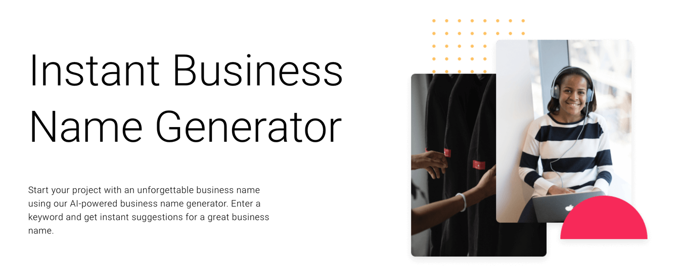 Zyro's Name Generator for Your Event Planning Business