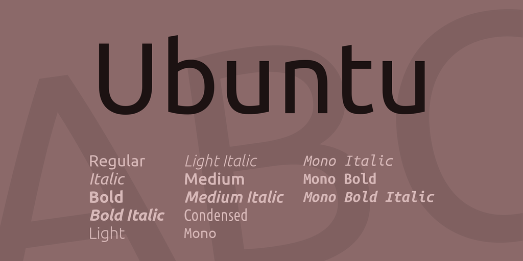 Ubuntu-Clean-Fonts