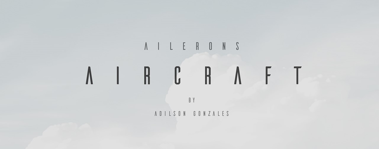 Ailerons Clean Fonts