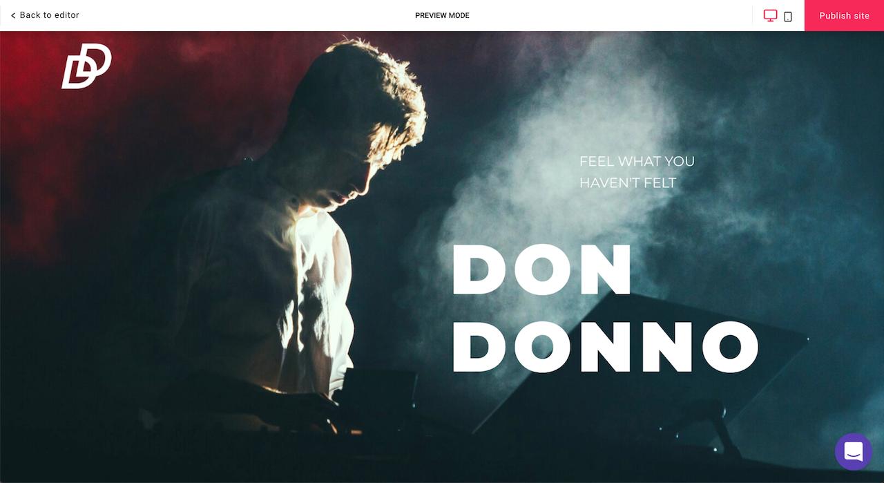 don donnos website
