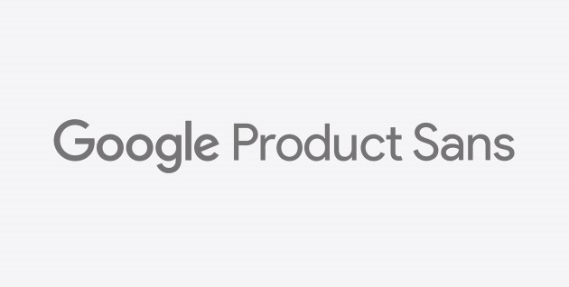 An example of Google Product Sans font