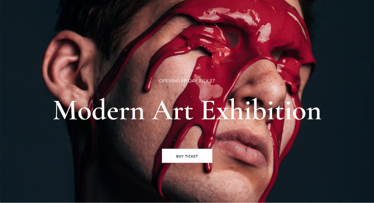 featured image of red paint dripping down a mans face