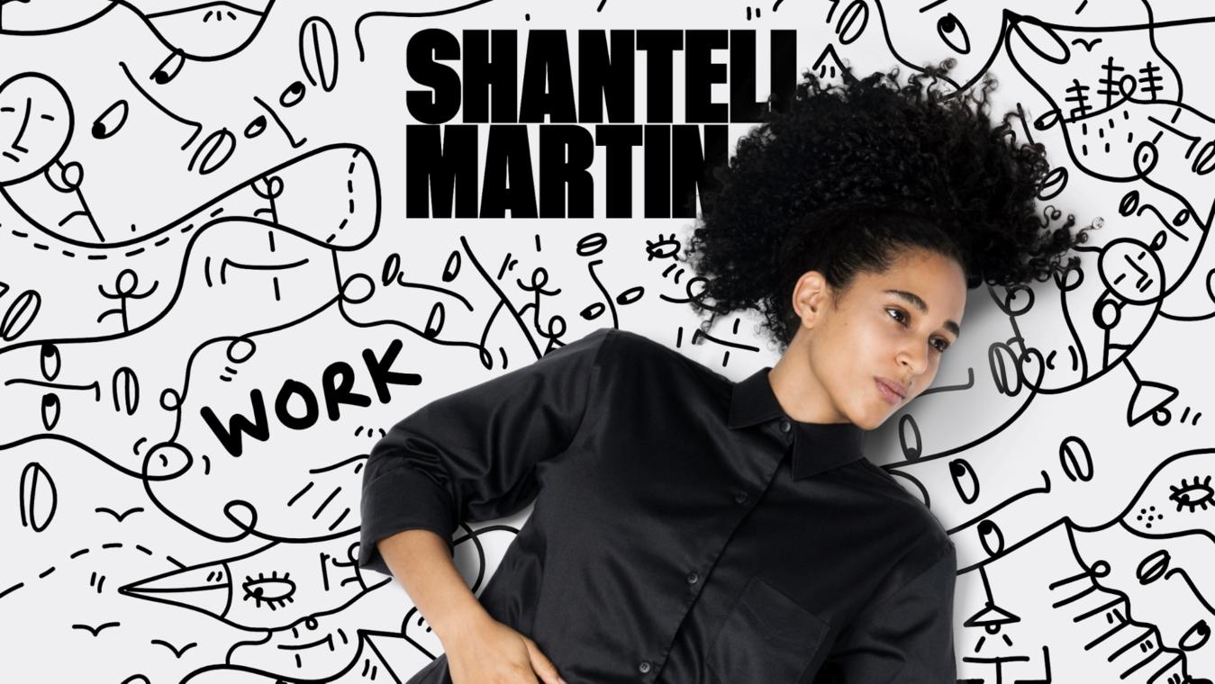 Shantell Martin's fun doodle filled portfolio website