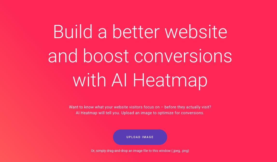 Zyro's AI heatmap for social media marketing