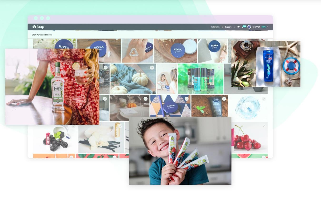 Foap Stock Fotografie Service