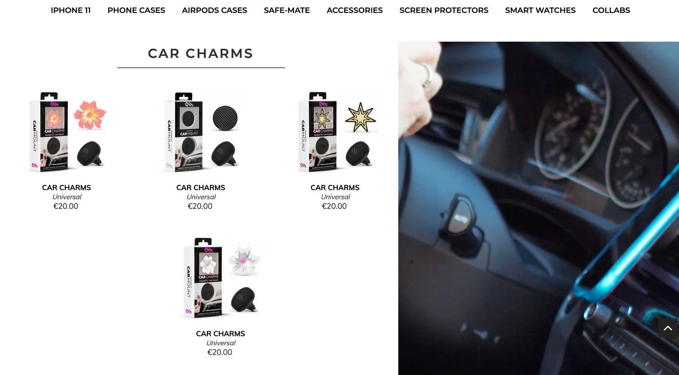 Case Mate Website Shop Category Screenshot