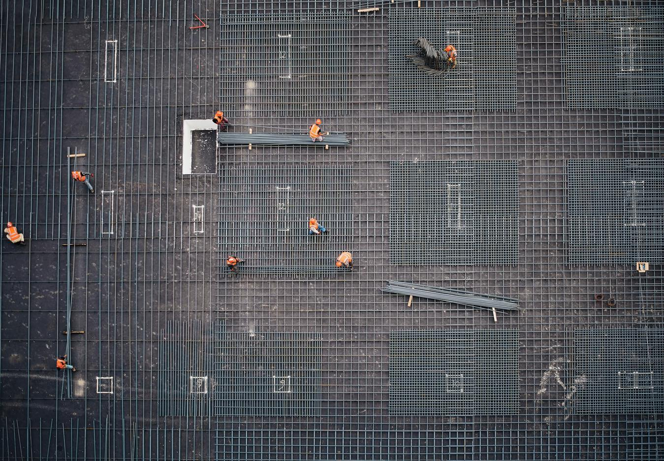 Construction Top View