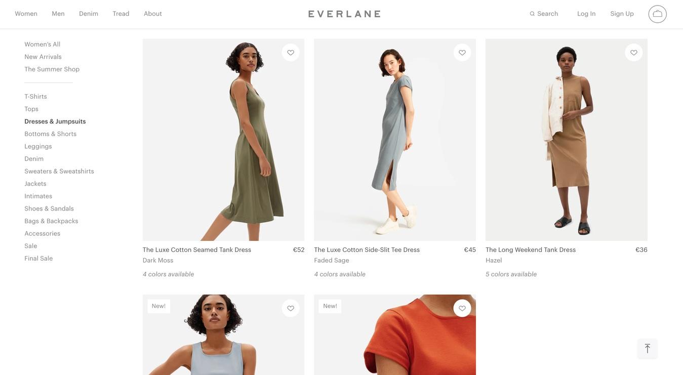 Everland Shop Page ecommerce website
