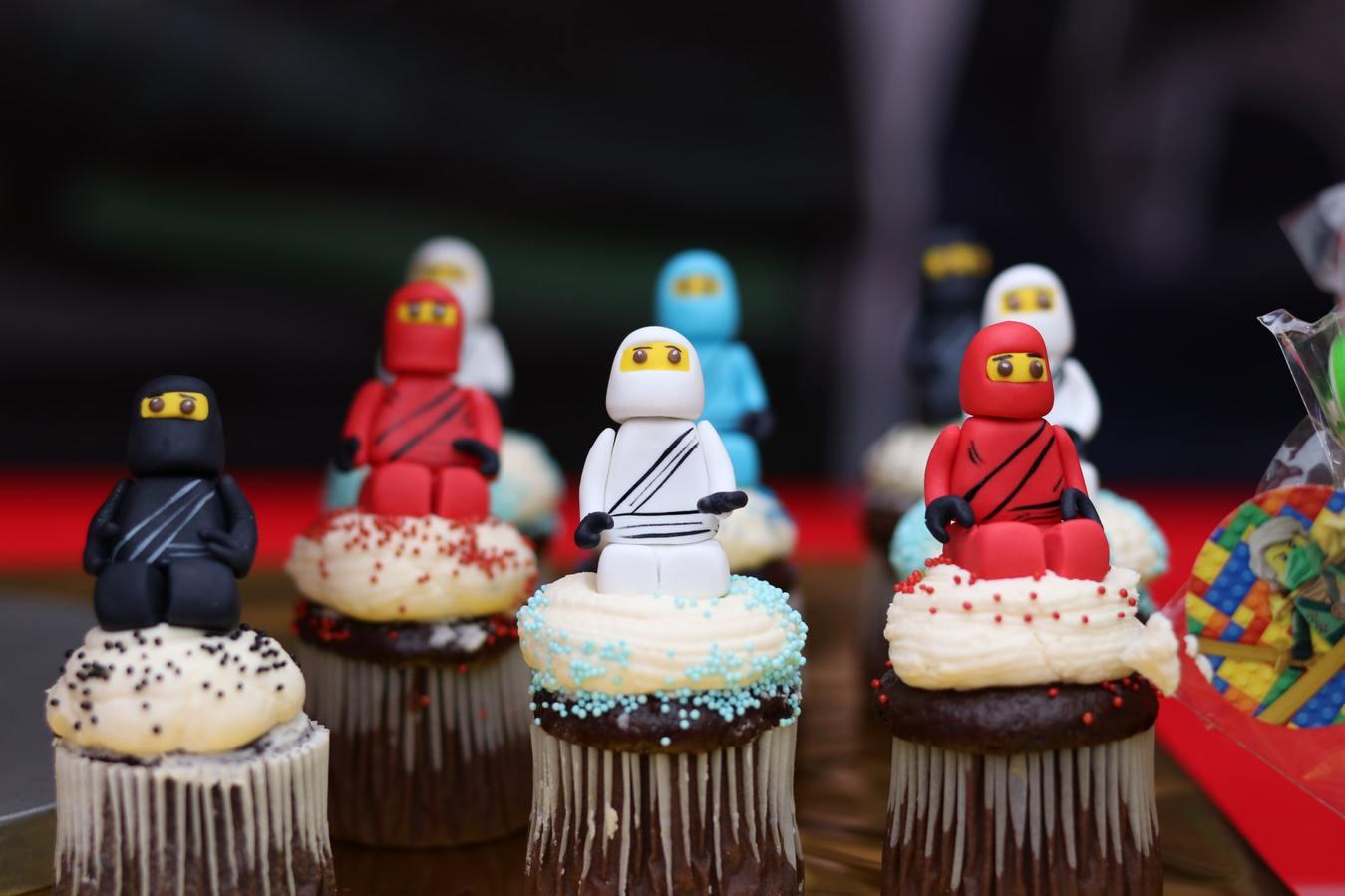 Cupcakes Lego Ninjago Figurines Handmade