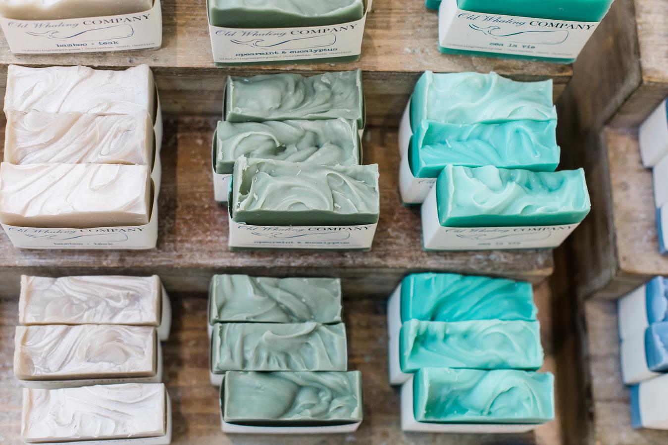 Multicolored Soap Stacks