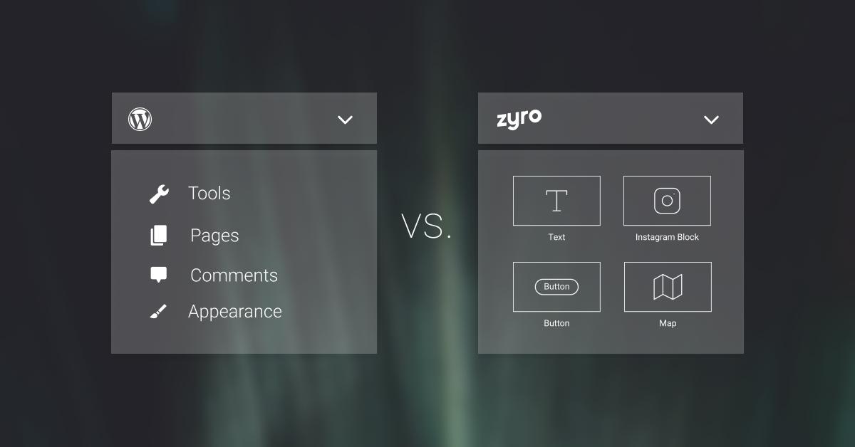 WordPress Zyro Comparison Blog - Featured Image