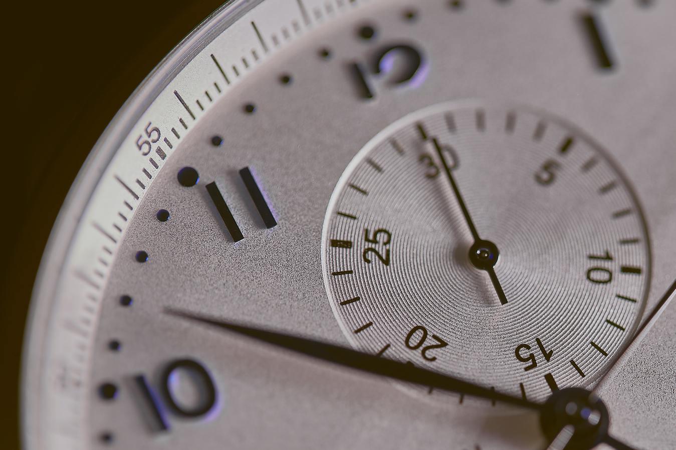 close-up horloge