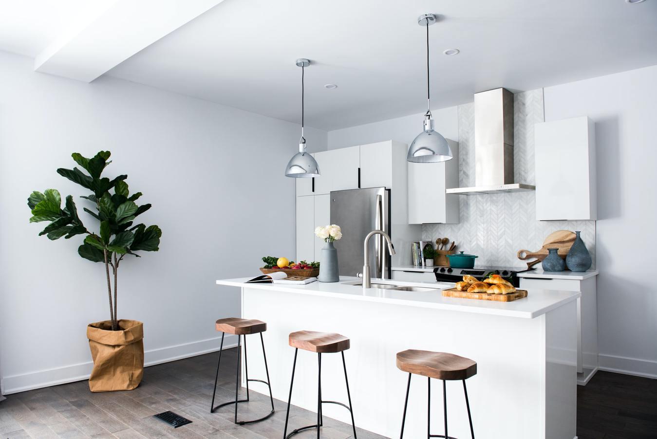 Moderne keuken interieur
