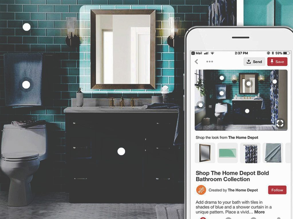 Pinterest Shop de Look functie