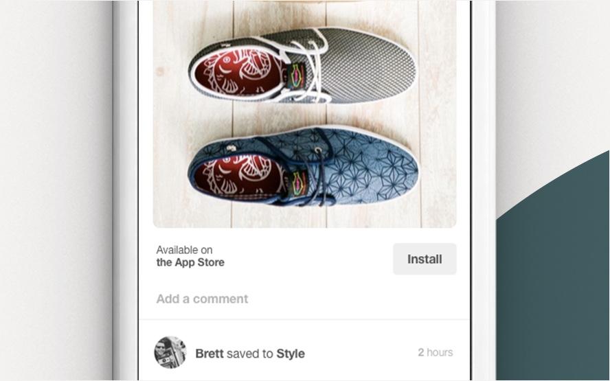 Cara berjualan di Pinterest seluler dengan Pin Kaya