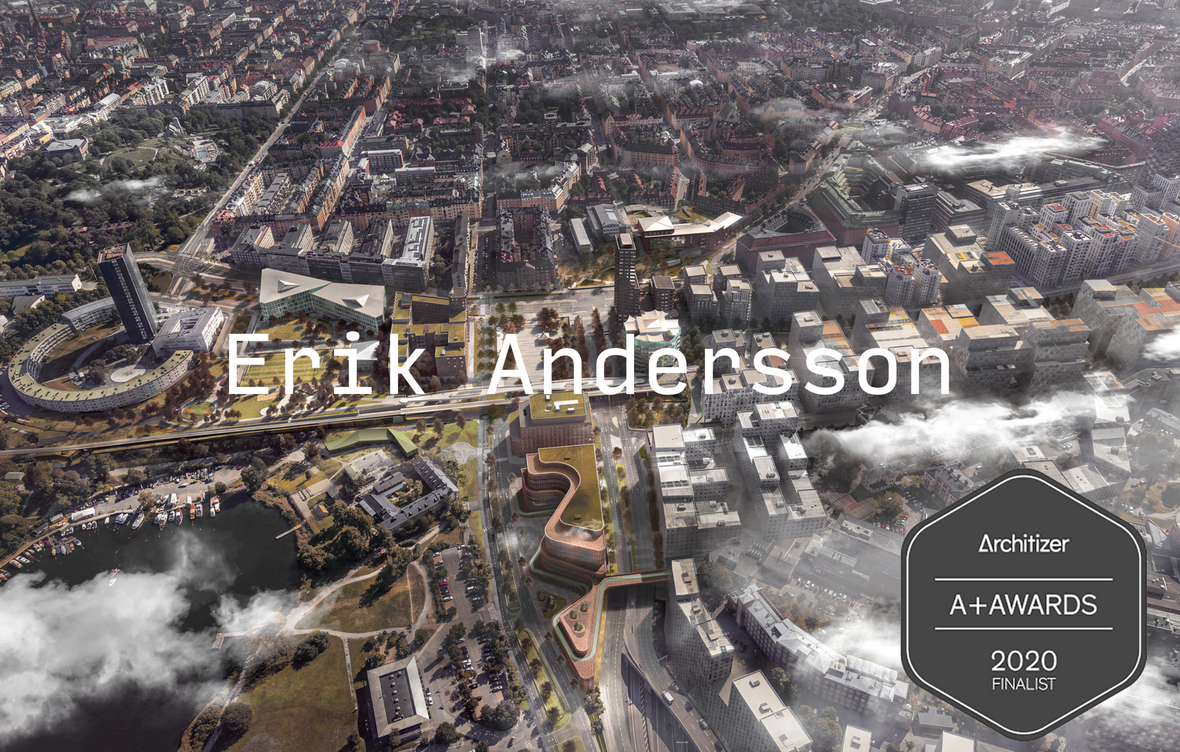 Portfolio Website von Erik Andersson