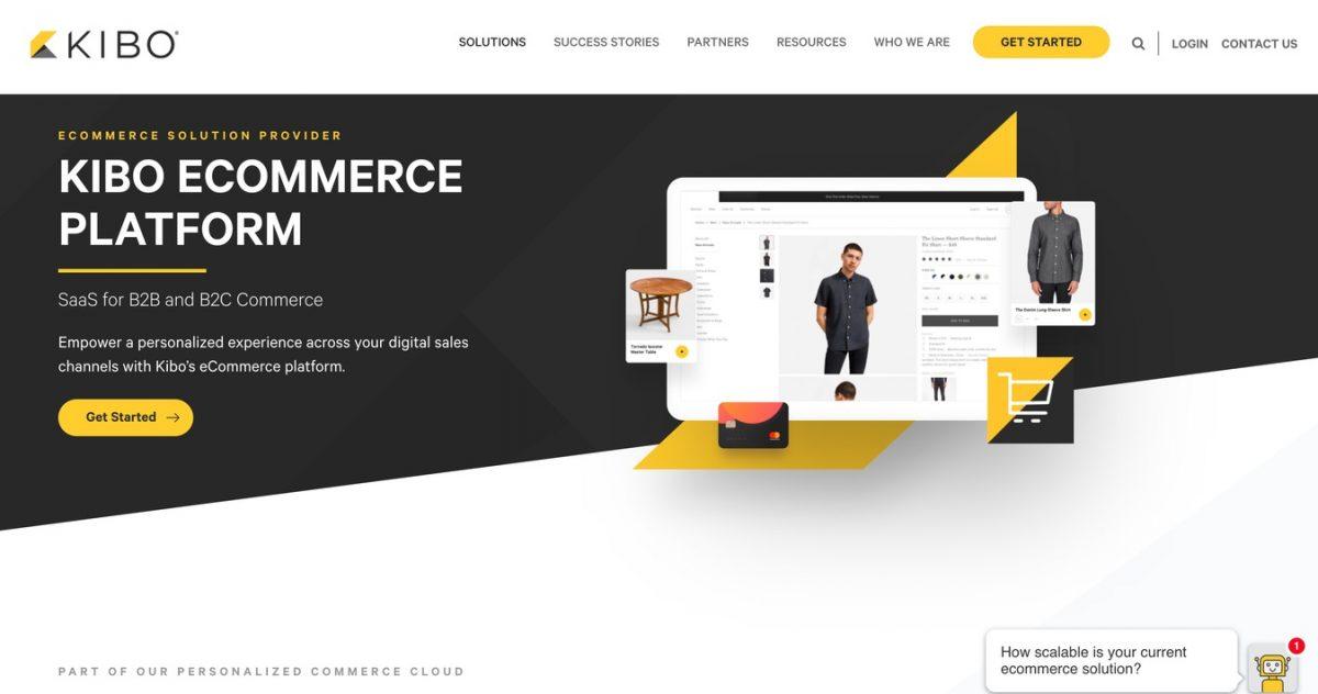 Plataforma de eCommerce Kibo