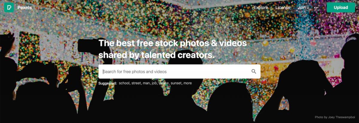 Pexels  - fotos de stock grátis
