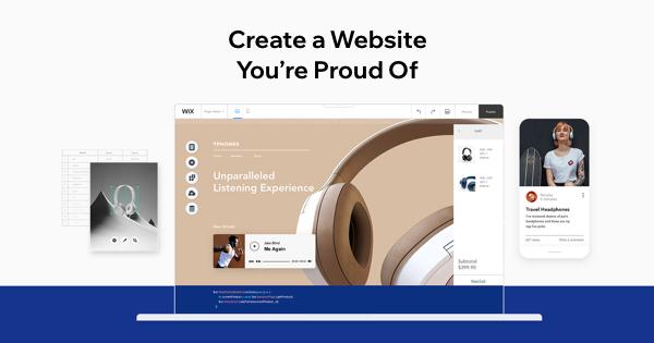 wix website builder nền tảng thương mại điện tử