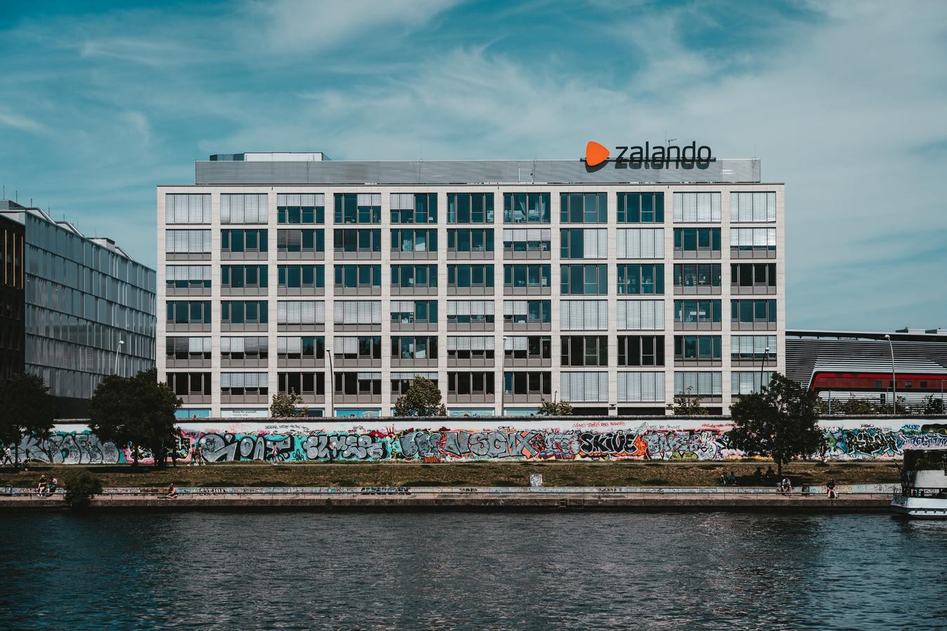 Zalando kantoor in Berlijn