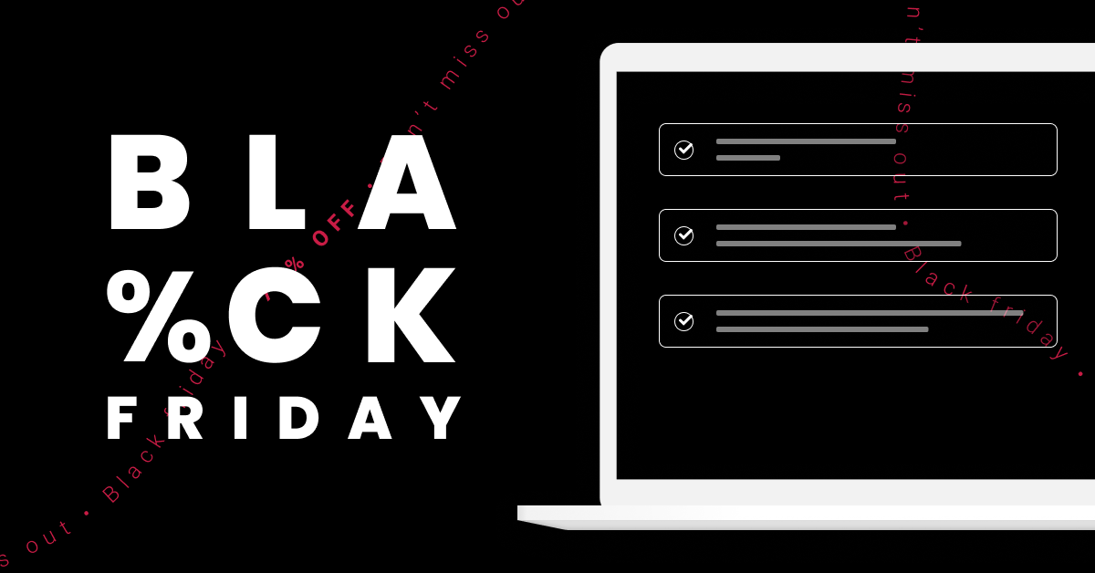 Black Friday Checklist for Online Retailers