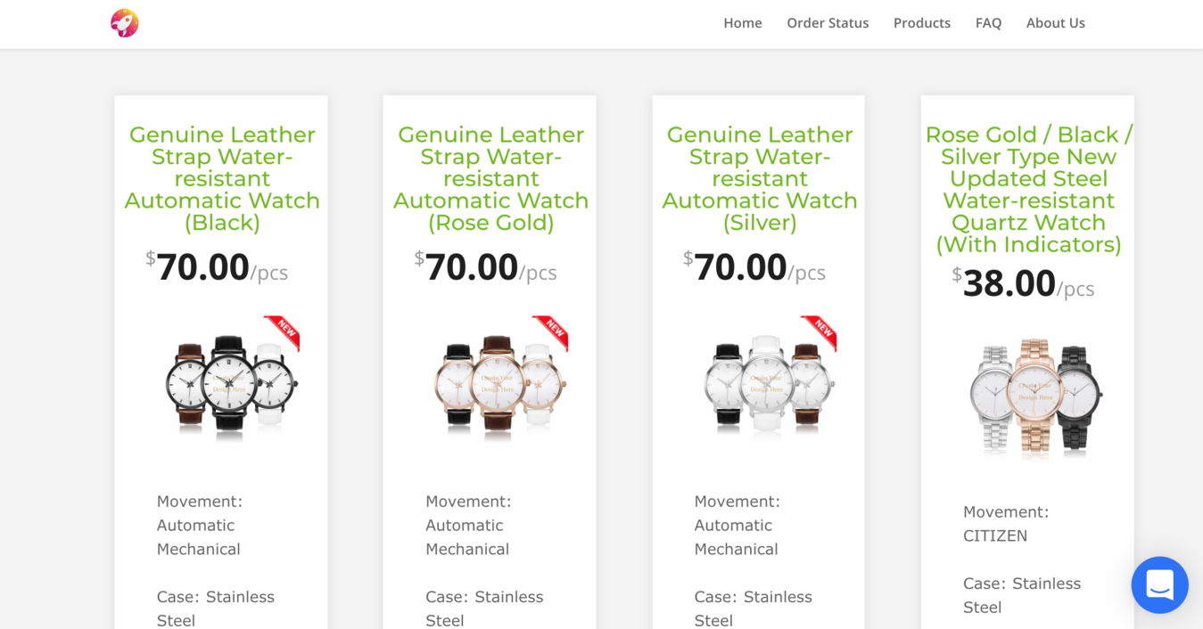 JetPrint producten pagina