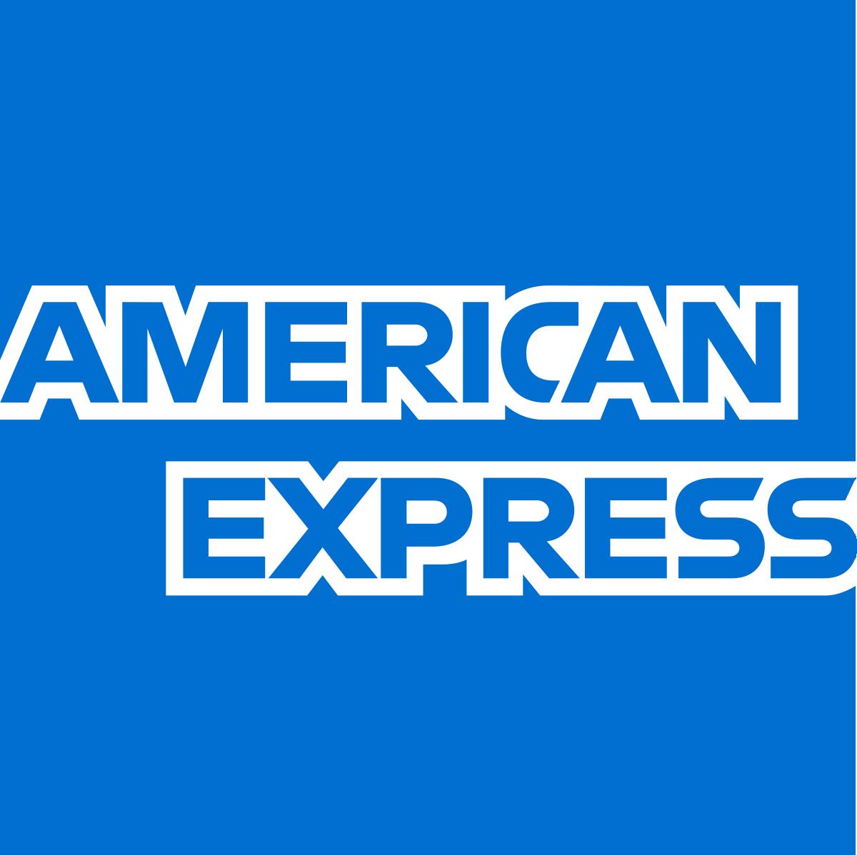 American express logo color scheme