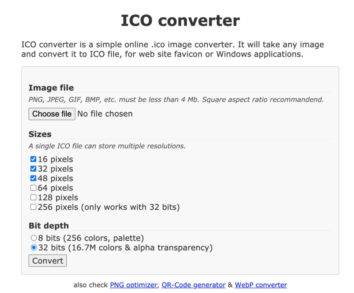 ico-converter favicon generator