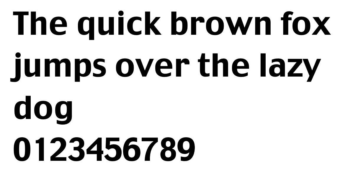 An example of the font charcoal