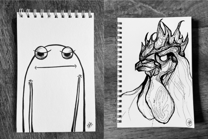 Daily Doodle Art Sketches