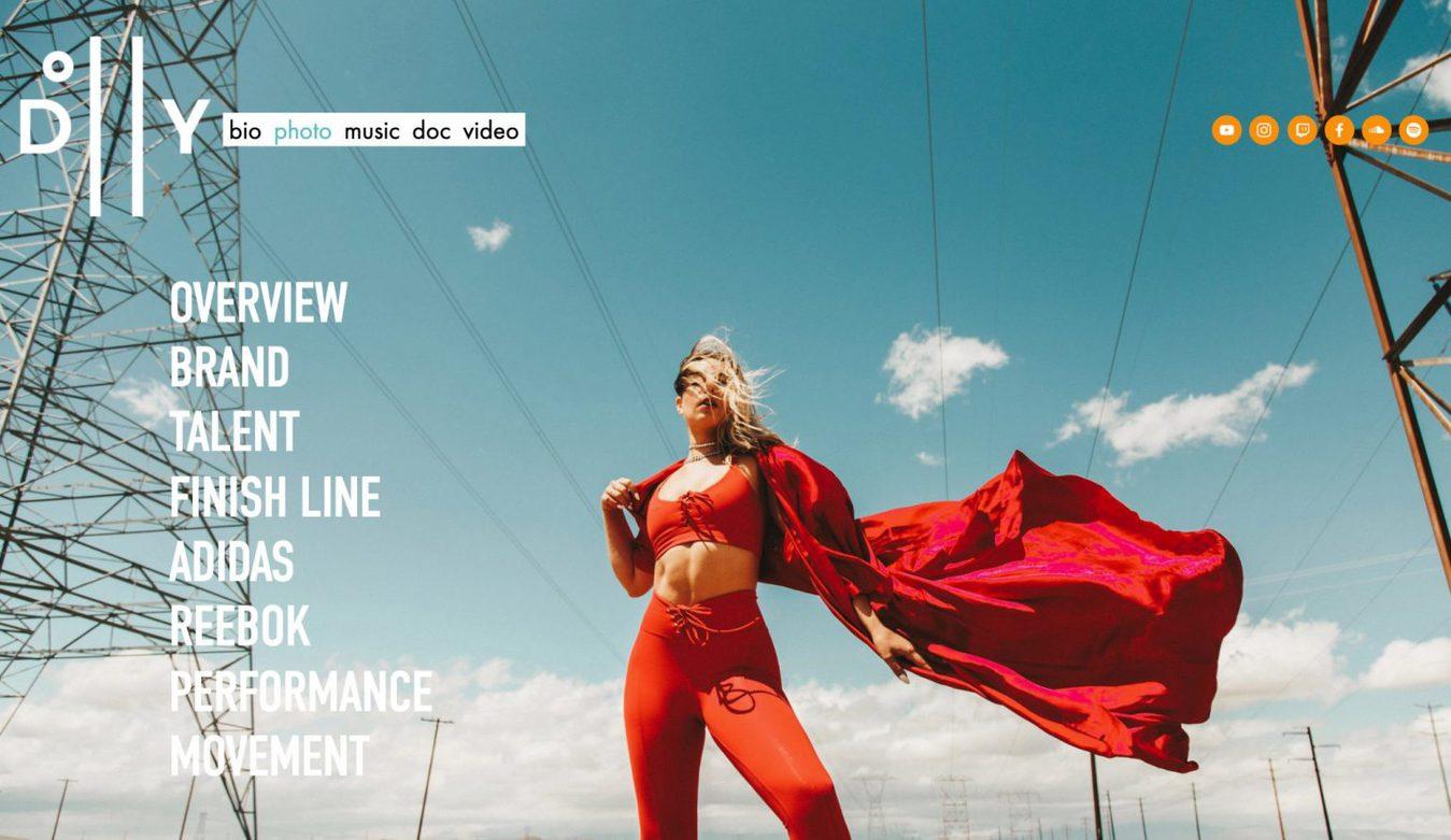 Dolly Ave website