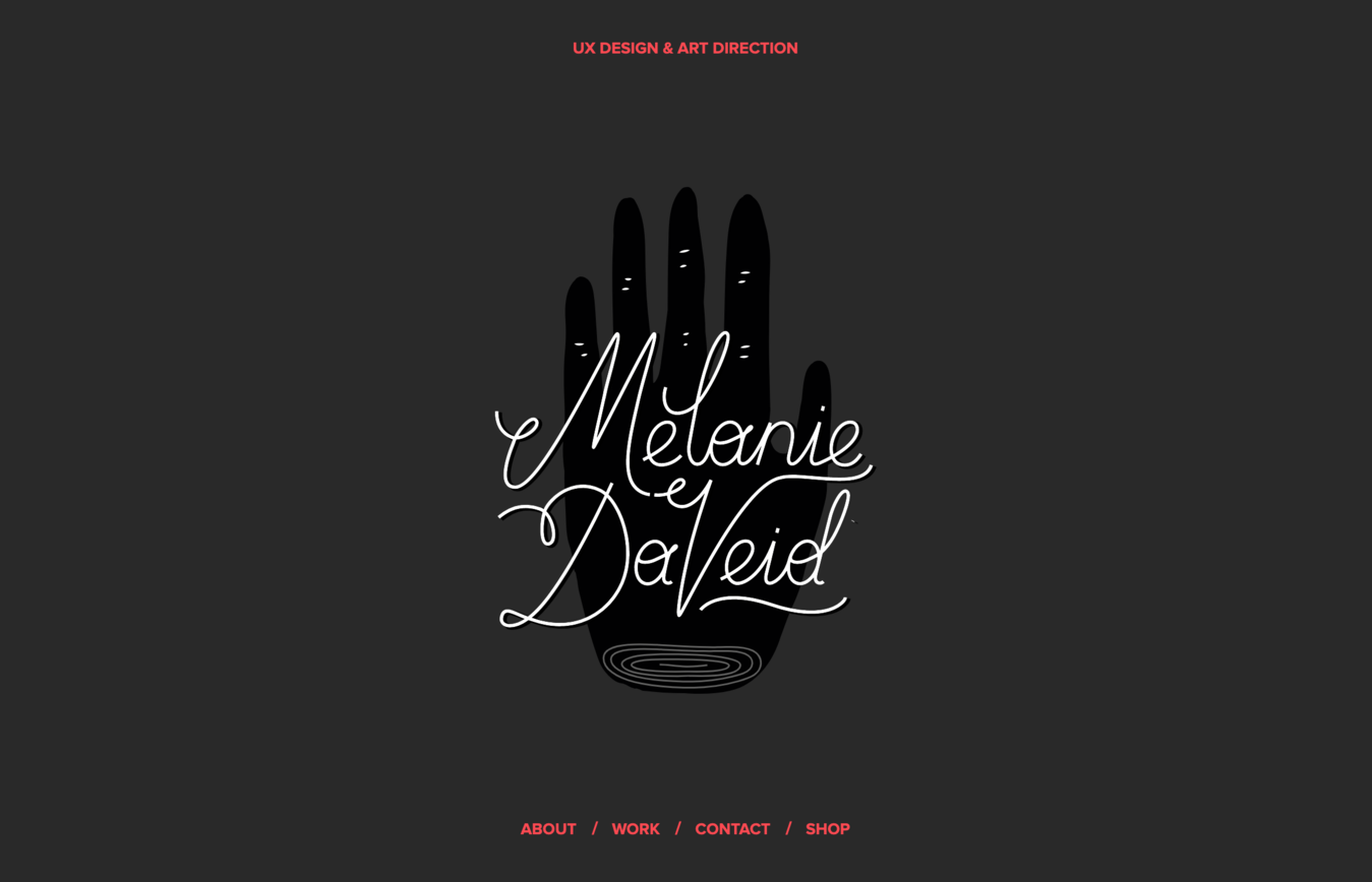 Website Melanie Daveid