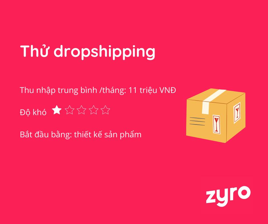 ý tưởng kinh doanh online dropshipping